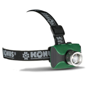 Konusflash-4 Rechargeable Head Torch: Hi-Power, Lightweight, Headtorch with over 100M Beam Throw!