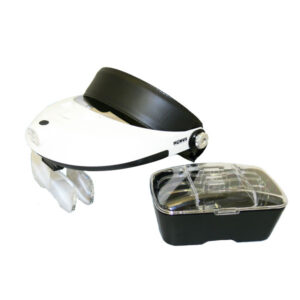VueMax head mounted magnifier, ideal for close-up work and specialist hobbies!