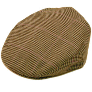 Classic fine houndstooth flat cap. Lightweight for comfort! Soft and Comfortable!