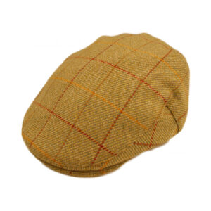 Top quality 100% wool tweed flat cap. Traditional, stylish, comfortable and practical!