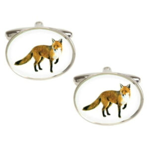 Fox Countryside & Hunting Cufflinks - The perfect gift for country lovers and hunters