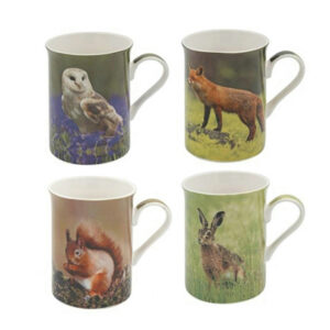 These mugs featuring British and Irish Wildlife make a nice gift for country and nature lovers!