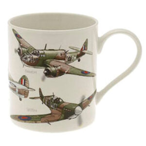 Classic war planes boxed mug from Agent 74 Ireland