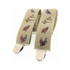 Strong, stylish mens braces, novelty, traditional, themed, or heavy duty!