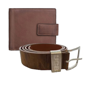 A great range of leather goods including wallets, belts, bags and purses etc.