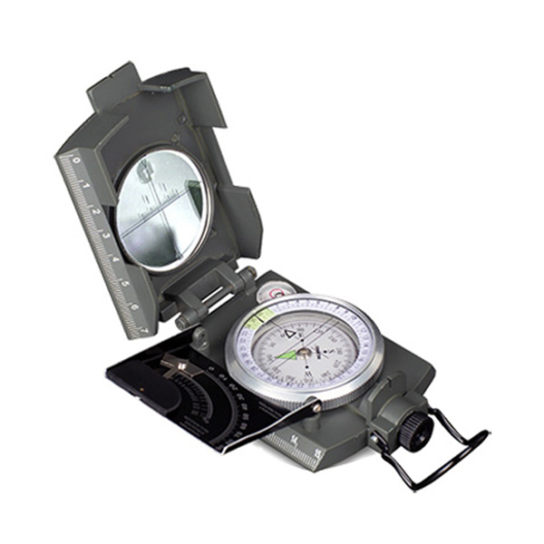 An indispensable navigation aid Konus Professional, metal, liquid filled compass Perfect for orienteering, trekking and camping