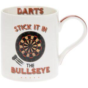 Buy Now! Cheeky Sports Darts mug - Great gift idea for darts players! Fine China.