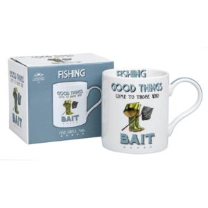 Great Gift Idea for Fishermen and Anglers the Cheeky Sport Fishing Mug!