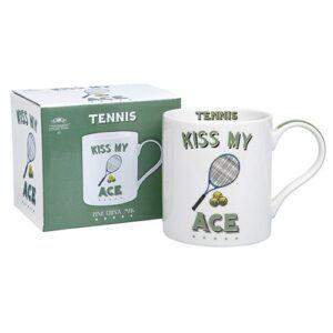 Fun Gift Idea For Tennis Fans - Cheeky Sport Mug - Kiss My Ace!