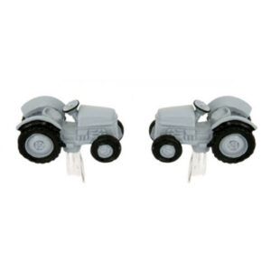 Great Farming gift for men: Grey Vintage Tractor Cufflinks - Top quality supplied in gift box
